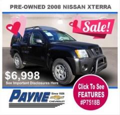 Payne 2008 nissan xterra P7518B 300px