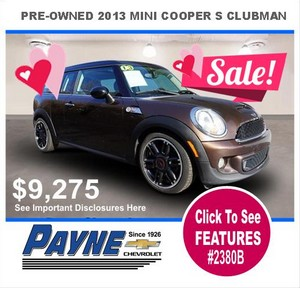 Payne 2013 Mini cooper 2380B 300px