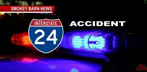 Traffic Alert: I-24 Rollover Injury Crash, Causing Delays