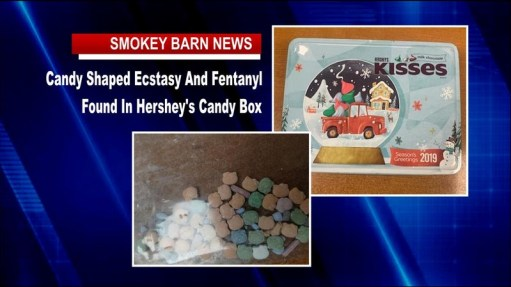 Candy Shaped Ecstasy And Fentanyl Found In Hershey's Candy Box