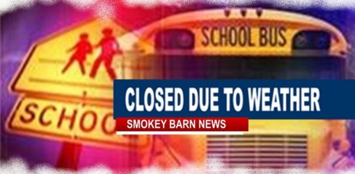 Rob. Co. Schools Closed Thursday Feb. 11th Due To Incoming Winter Weather