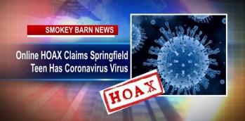 Online HOAX Claims Springfield Teen Has Has Coronavirus Virus