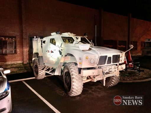 Springfield new armored emergency rescue vehicle.