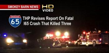 THP Revises Report On Fatal I65 Crash That Killed Three