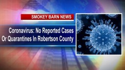 Coronavirus: No Reported Cases Or Quarantines In Robertson County
