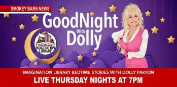 Dolly Parton Starts Story Times LIVE-On-FB For Kids