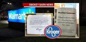 SPFD Walmart Cuts Hours/Kroger Limits Some Items