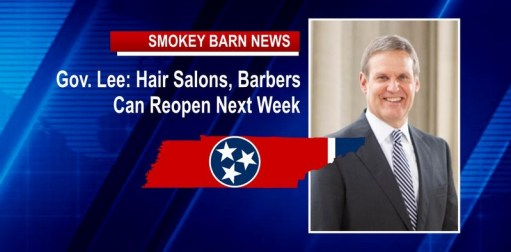 Governor Lee: Hair Salons, Barbers Can Reopen Next Week