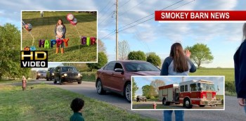 First Responders/Friends Wish 11 Year Old Coopertown Girl Happy Birthday