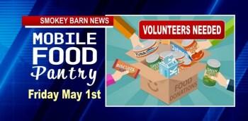FRIDAY: FREE Drive-Thru Food Pantry (Volunteers Needed)