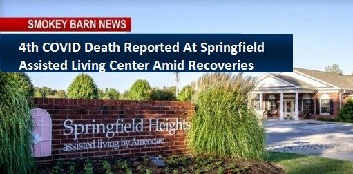 4th COVID Death Reported At Springfield Assisted Living Center