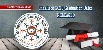 Graduation Dates Finalized By Robertson County Schools