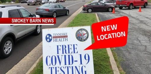 COVID-19 Testing Location Change