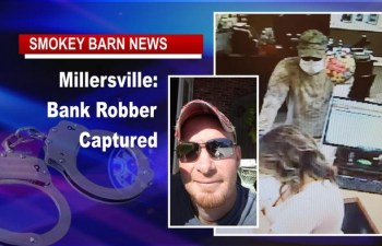 Millersville Bank Robber Captured