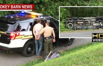 One Injured One Taken Into Custody Following Springfield Area Rollover