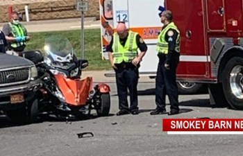 Trike And Vehicle Collide In Springfield, Rider Ok