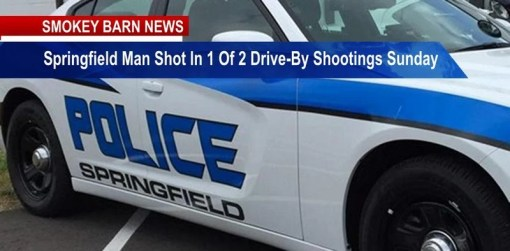 Springfield Man Shot In One Of 2 Drive-By Shooting Sunday