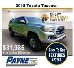 Payne 2018 toyota tacoma p7608