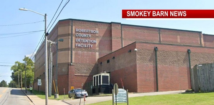 Robertson Jail Sees First Cases Of COVID-19