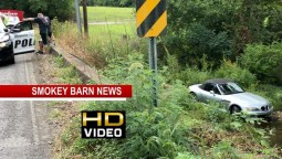 Teen Driver OK After Car Watery Crash In Greenbrier