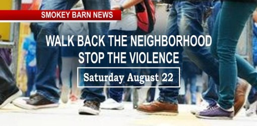 Stop The Violence Walk In Springfield Set For Sat. Aug 22