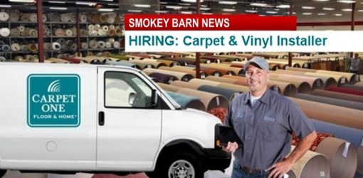 NEEDED Carpet & Vinyl Installers @ Springfield's Carpet One