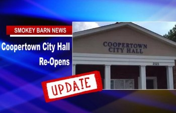 Coopertown City Hall REOPENS