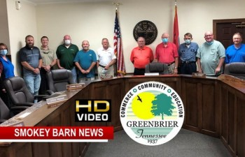 VIDEO: Greenbrier Board Of Mayor & Alderman Meeting 9/14/2020