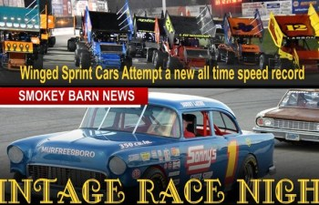 Vintage Car Night & Winged Sprint Cars Race This Saturday At Veterans Motorplex