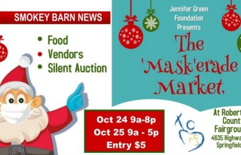 2020 'Mask'erade Market-Food, Arts & Crafts, A 2 Day Affair Oct. 24-25 (Vendors Welcome)