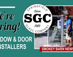 Hiring Window & Door Installers @ Springfield Glass Co.