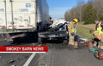 UPDATE: Deadly I24 Crash Takes One Life Thursday