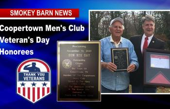 Two Special Veterans Honored By Coopertown Men's Club