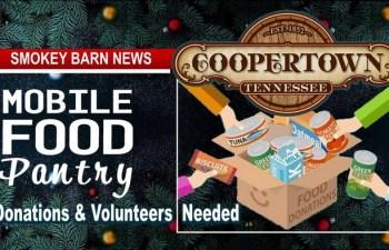 Coopertown: Holiday Food Drive (Donations & Volunteers Needed)