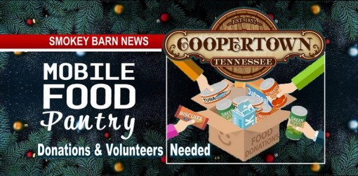 Coopertown: Holiday Food Drive (Donations & Volunteers Needed)