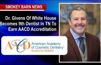 White House Dentist Becomes 9th Dentist In TN To Earn AACD Accreditation