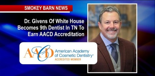 Dr. Givens Of White House Becomes 9th Dentist In TN To Earn AACD Accreditation