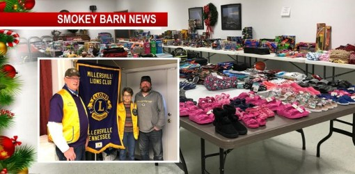 57 Families, 122 Children Receive Toys, Clothes, Gift-cards From The Millersville Lions Club Annual Give-Away