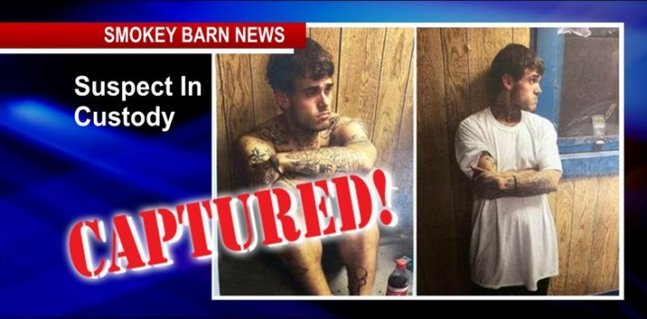 CAPTURED: Joint Effort Ends Manhunt For Brandon Reynolds