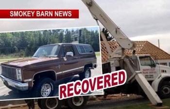 2 UPDATES: 23 Ton Crane & Vintage Blazer Both return Home