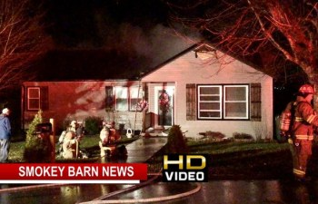 """Springfield Home Ignites Officials Eye Fireplace As Cause, SFD Makes """"Great Stop"""""""