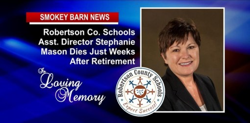R.C. Schools' Asst. Dir. (Stephanie Mason) Dies Just Weeks After Retirement