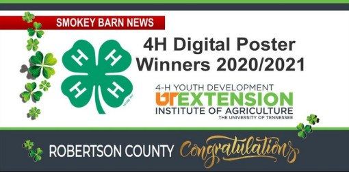Robertson County Wins Big In 4-H Digital Poster Contest