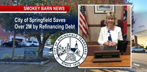 Springfield Leaders Save Over 2Mil By Debt-Refi