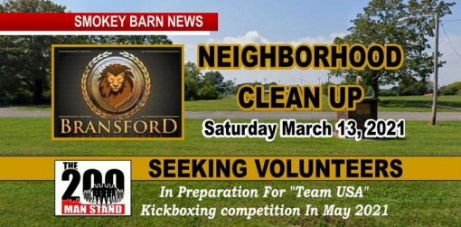 Bransford/Team USA Community Clean-Up Event Set For Saturday