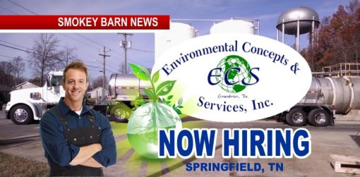 Now Hiring - Springfield's Environmental Concepts & Services