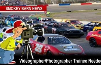 Videographer/Photographer Trainee Needed At Veterans Motorplex