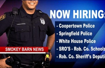 Apply Now To Serve & Protect - Multiple Opportunities Across Robertson County