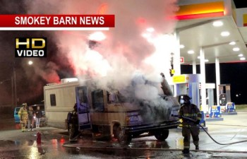 RV Ignites At Gas Pump Minutes After Purchase In Springfield