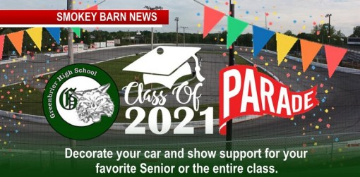 Greenbrier 2021 Senior Parade Hosted By Veterans Motorplex
